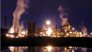 Steel plant in Redcar