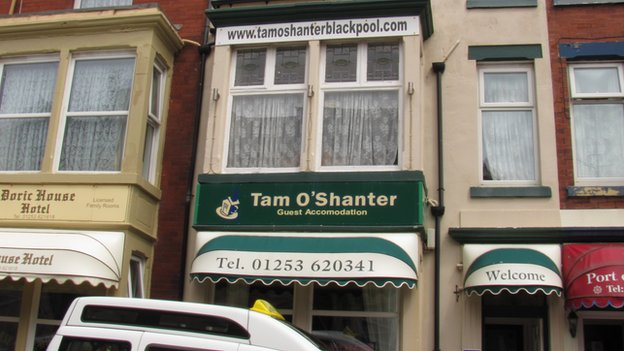 Tam O'Shanter B&B, Blackpool
