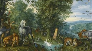 Jan Brueghel the Elder - THE GARDEN OF EDEN WITH THE FALL OF MAN