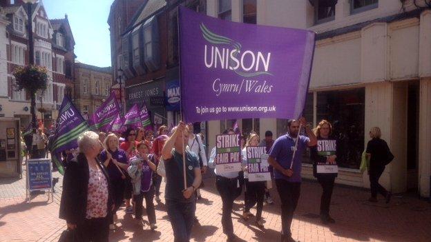 Wrexham rally