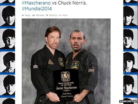 Chuck Norris and Mascherano
