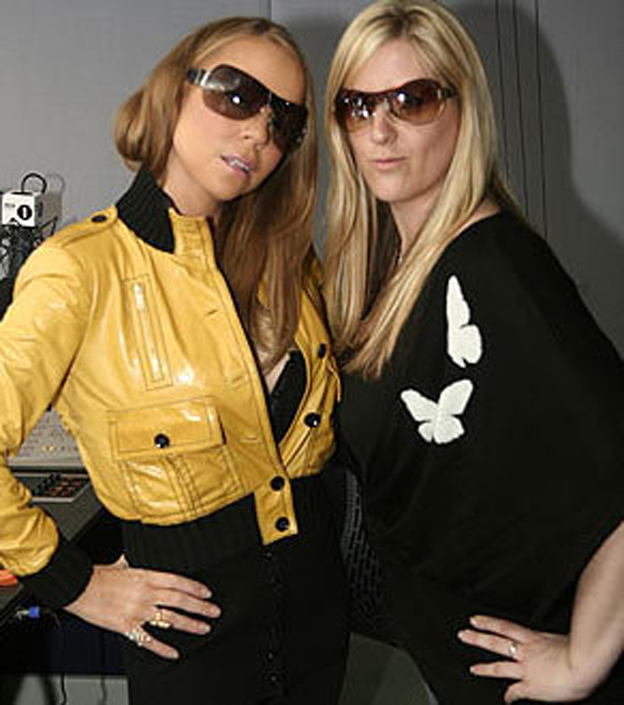 Mariah Carey and Victoria Roberts