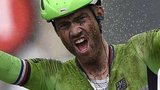Dutch rider Lars Boom wins a rain-soaked stage five of the Tour de France