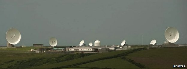 GCHQ listening post at Bude