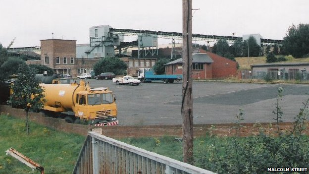 Silverdale Colliery in 1996
