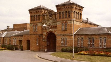 Broadmoor's gatehouse in 1977 - reproduced by permission of West London Mental Health NHS Trust/Berkshire Record Office