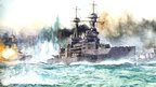HMS Vanguard at the battle of Jutland
