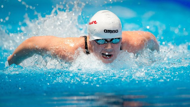 Northern Ireland swimmer Sycerika McMahon