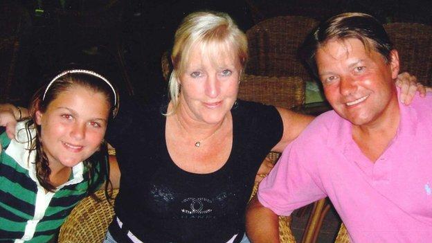 Isabelle, Gillian, Chris John
