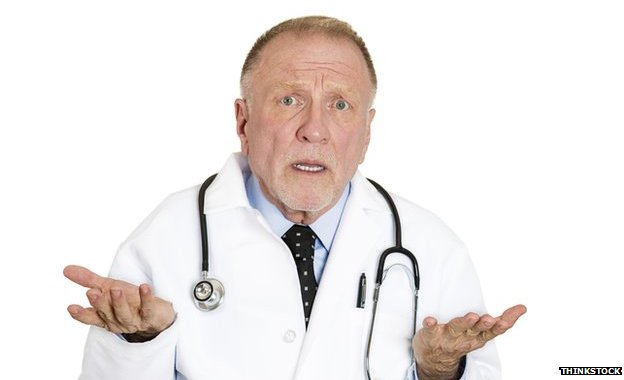 A confused doctor