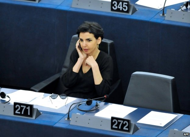 French MEP Rachida Dati (9 July)