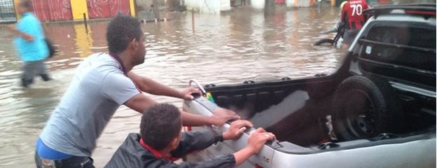 Flooding in Recife