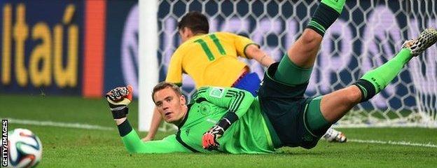 Germany goakeeper Manuel Neuer