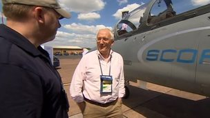 Air Tattoo founder Tim Price