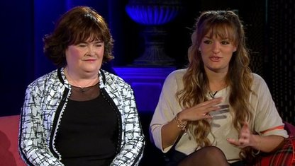 Susan Boyle and Nicola Benedetti