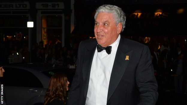 Fifa vice-president Jim Boyce