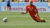 Netherlands winger Arjen Robben at the World Cup