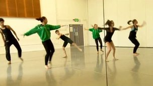 Birmingham youth dancers