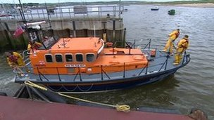 Amble RNLI's current lifeboat