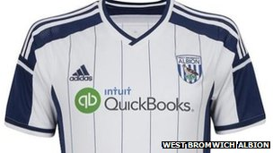 New West Brom home kit 2014/15