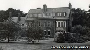 Building which housed Westfield Children's Home. Photo: Liverpool Record Office/Liverpool libraries