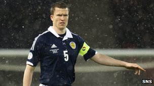 Wigan and Scotland defender Gary Caldwell