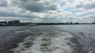 River Tyne from Shields ferry