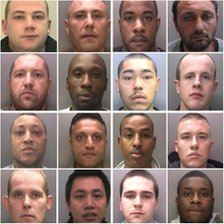 West Midlands Police releases photos of 34 people wanted by the police