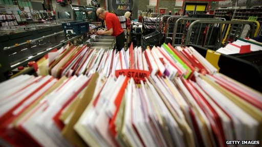 Royal Mail letters