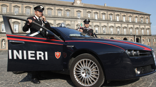 Modern carabinieri