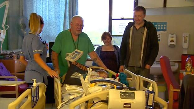 Ben Baddeley taken to surgery