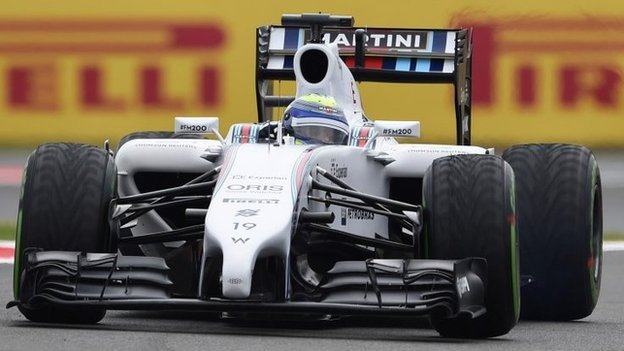 Williams F1 driver Felipe Massa