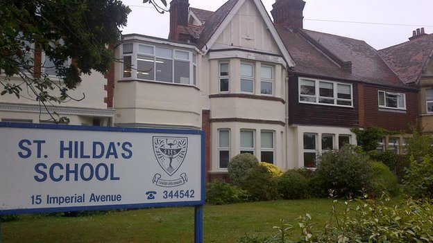 St Hilda's School in Westcliff-on-Sea