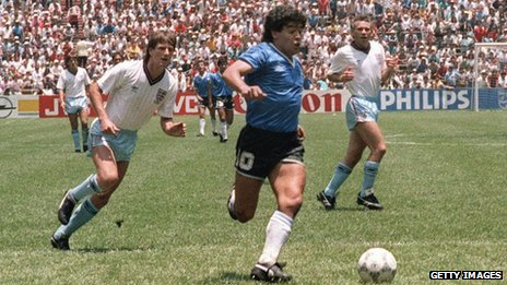 Argentina v Mexico at the 1986 World Cup