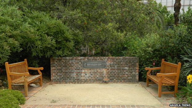 Memorial wall in Sydney