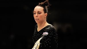 Beth Tweddle at the World Championships, Tokyo, 2011