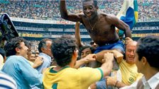 Pele at the 1970 World Cup