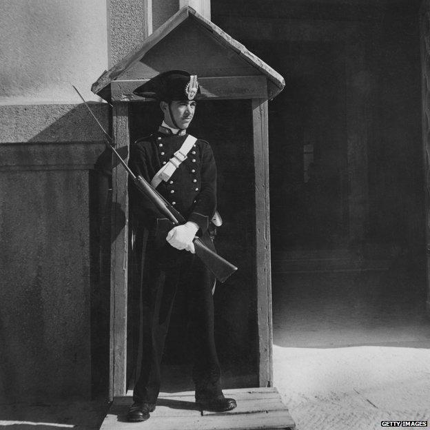 Carabiniere circa 1950