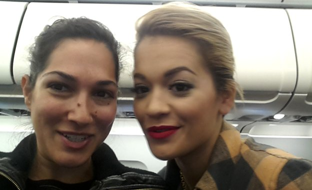 Susie Christodoulou and Rita Ora