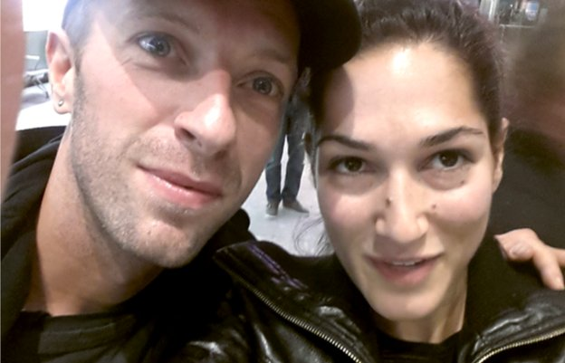 Chris Martin and Susie Christodoulou
