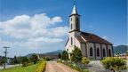 Little church near the German town Blumenau, Brazil