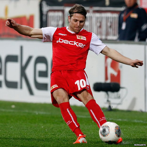 Martin Dausch of Union Berlin, March 2014