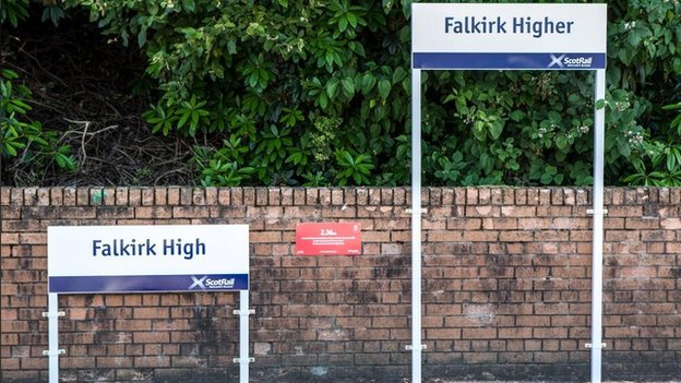 Falkirk High signs