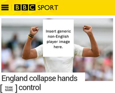 BBC Sport template