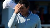 Rory McIlroy found the going tough on day two of the Scottish Open