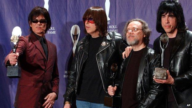 The Ramones in 2002