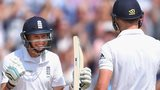 England's Joe Root and James Anderson