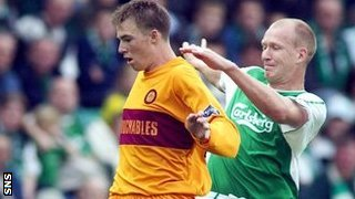 David Clarkson played for Motherwell between 2002 and 2009