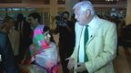 Malala Yousafzai and John Simpson