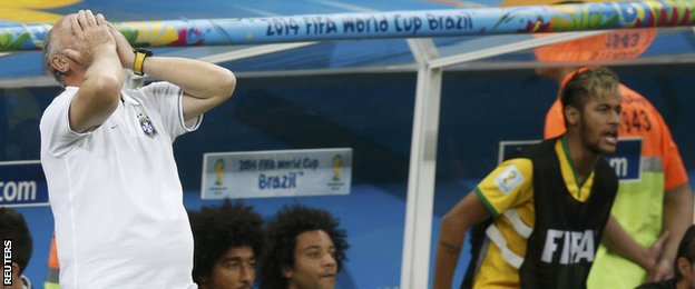 Scolari led Brazil to World Cup success at the 2002 tournament